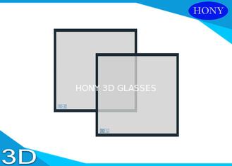 3D Square Circular Polarizer Filter  , Projector Linear Polarizing Filter Custom Made