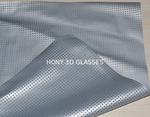 Pvc Perforated Silver Projection Screen