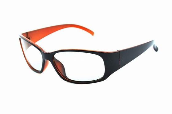 ประเทศจีน Plastic Frame Linear Polarized 3D Glasses For Cinema Anti Scratch Lenses ผู้จัดจำหน่าย